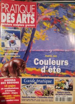 PRATIQUE DES ARTS - Couverture