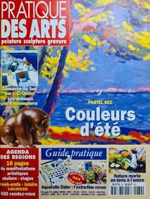 PRATIQUE DES ARTS - Couverture - Juillet 2000
