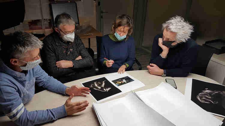 Rencontre avec les éditions Albin Michel pour la monographie