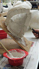 Réalisation d'un moule en élastomère