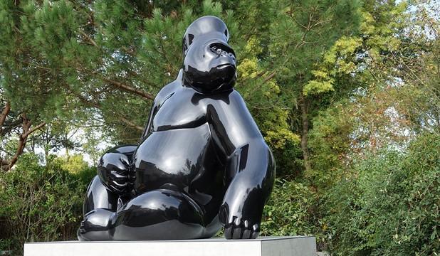 sculpture-gorille-monumentale-sculpteur-
