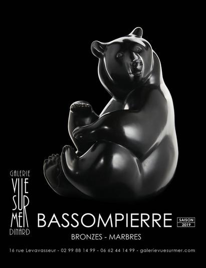 Michel BASSOMPIERRE exhibition at the Vue Sur Mer gallery in Dinard