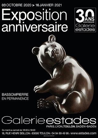 Exposition personnelle Michel Bassompier
