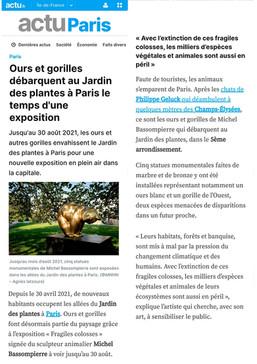 Actu Paris - Mai 2021