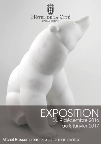 Exposition Michel BASSOMPIERRE à Carcassonne