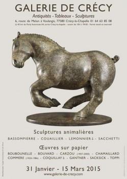 Exposition Michel BASSOMPIERRE à la galerie de Crecy