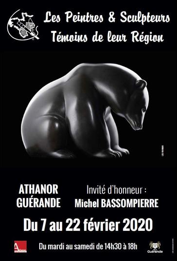 """Invité d'honneur de l'exposition """"Peintres et Sculpteurs témoins de leur Région"""" à Guérande"""