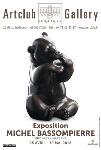 Exposition Michel BASSOMPIERRE à la galerie Artclub Lyon
