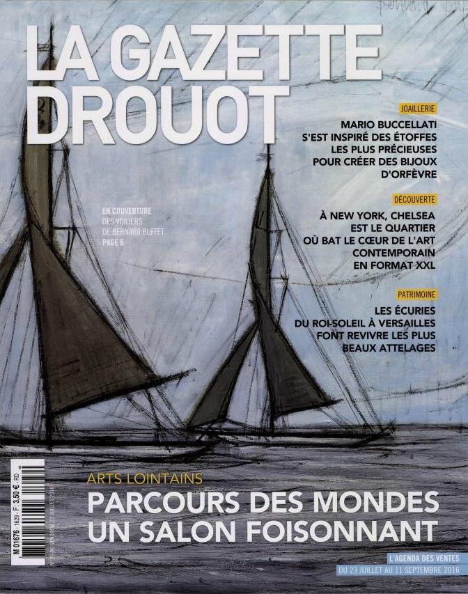 LA GAZETTE DROUOT n°1629 juillet 2016 - couv