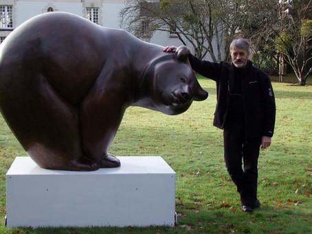"""L'ours """"Les Saumons n°1"""" quitte l'antre de son créateur"""