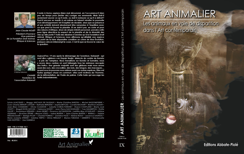 ART ANIMALIER Tome 9 -Couverture