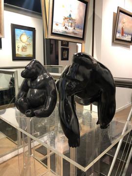 Exposition personnelle de 30 bronzes et marbres à la Galerie Sakah, à Toulouse