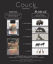 Exposition à la galerie Couck'art