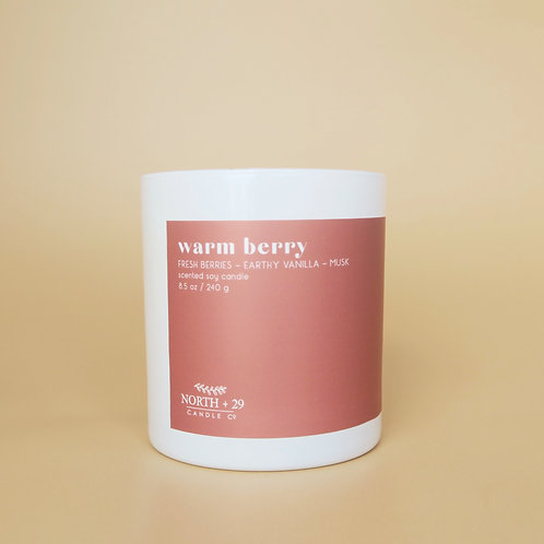 Warm Berry Tumbler