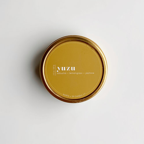 Yuzu Travel Candle