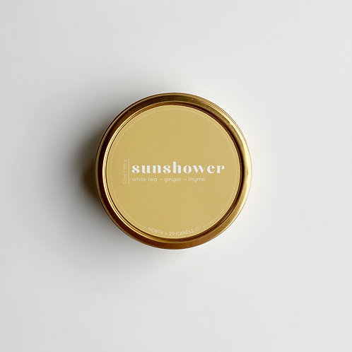 Sunshower Travel Candle