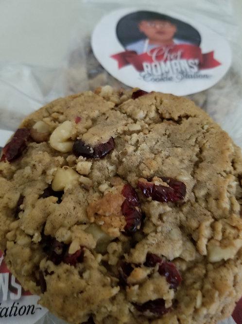 Oatmeal Cranberry Walnut Cookie