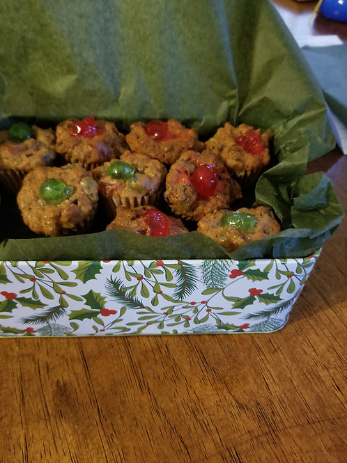 Small Fruitcake Cookies