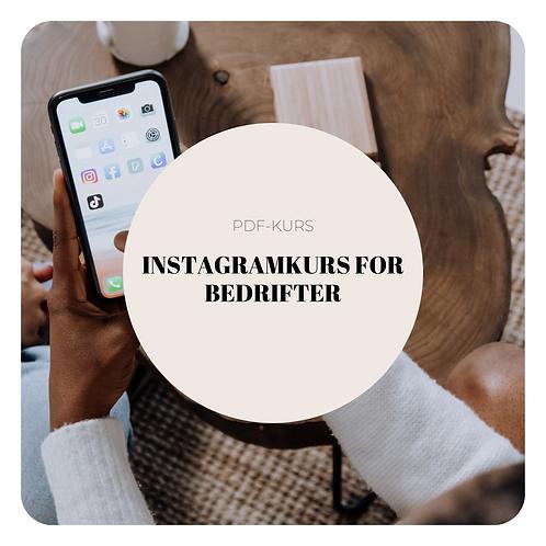 PDF kurs: Instagram kurs for bedrifter