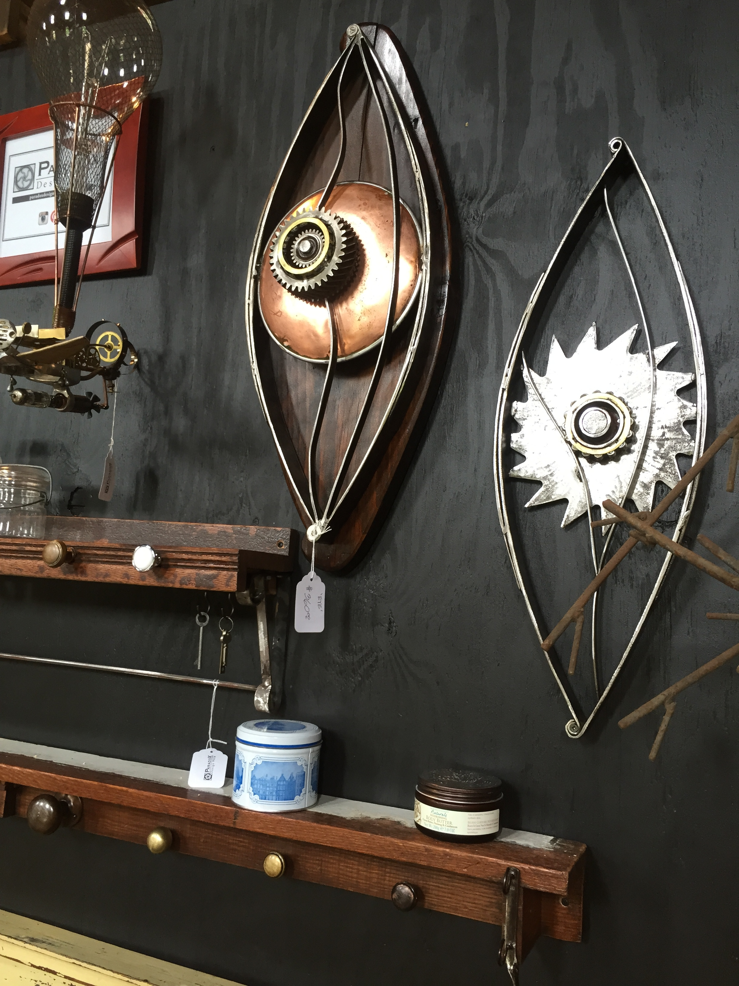 Wall sculptures & coat racks
