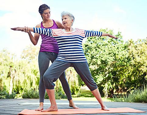 Yoga pra Terceira Idade: atenção individualizada