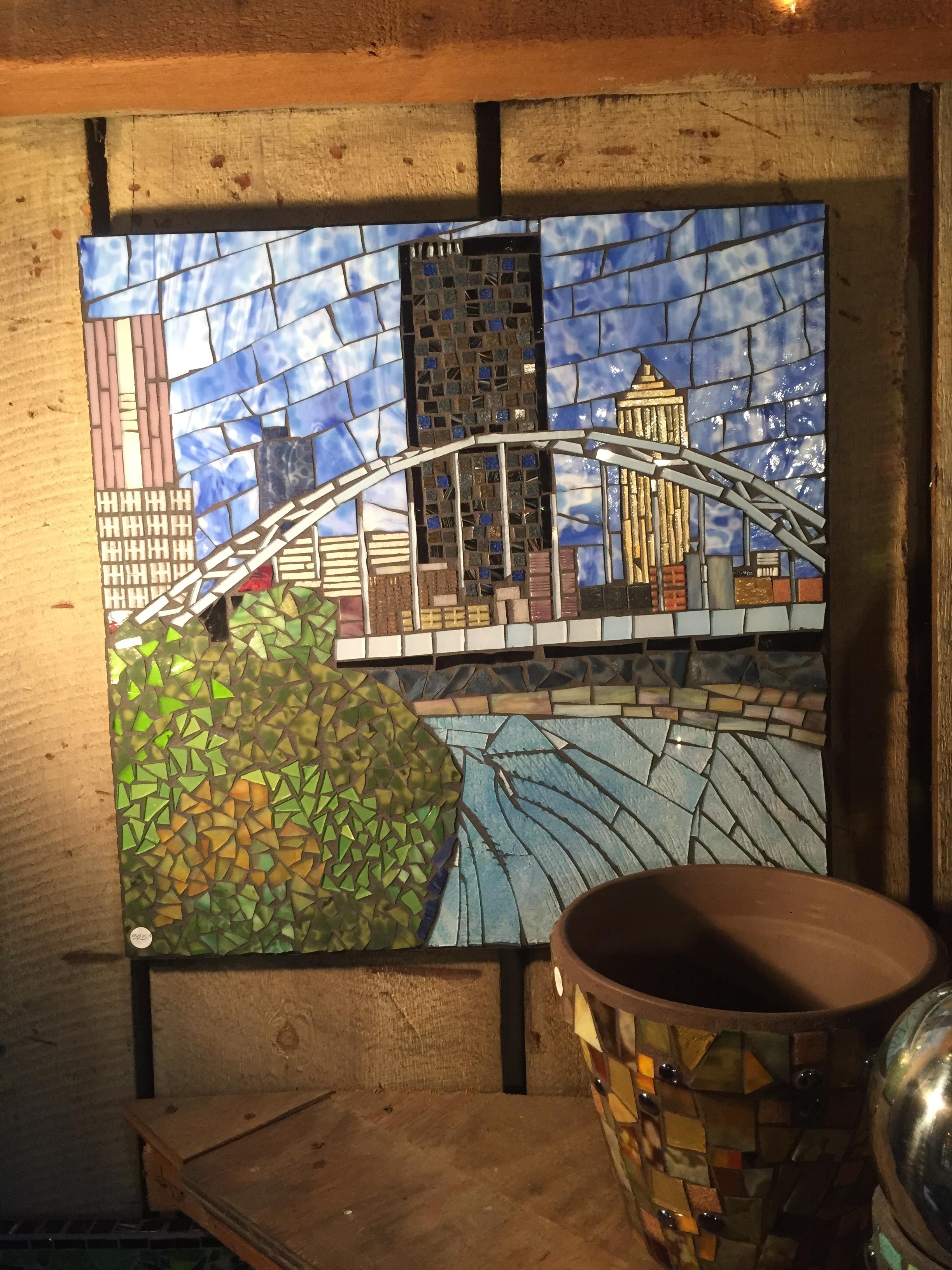 Birmingham Bridge mosaic