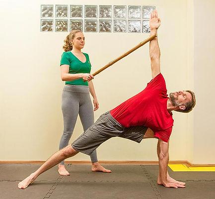 Nas aulas personais de Yoga, o praticante recebe atenção exclusiva todo o tempo