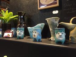 Functional ceramics by Karen McKee