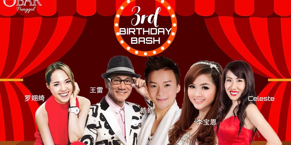 OBAR Punggol 3rd Birthday Bash
