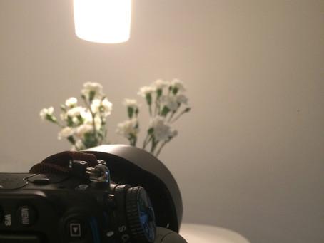 Selfportrait - Behind the scene