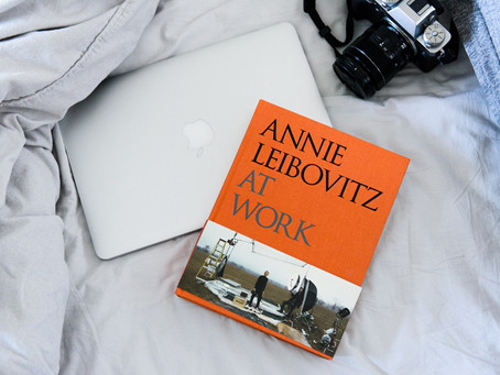 Kirja ''Annie Leibovitz at work''