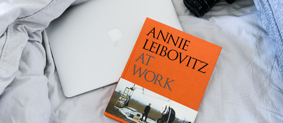 The book about Annie Leibovitz at work
