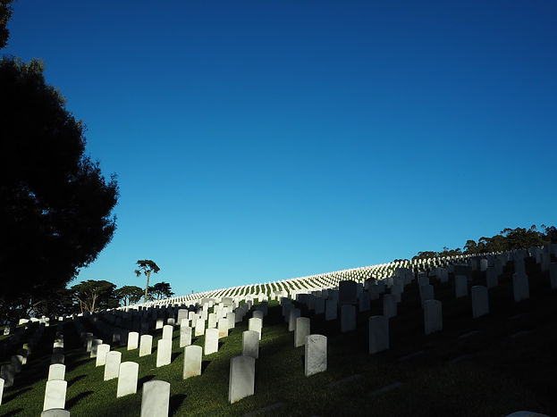 San Francisco National Cemetery in Presidio