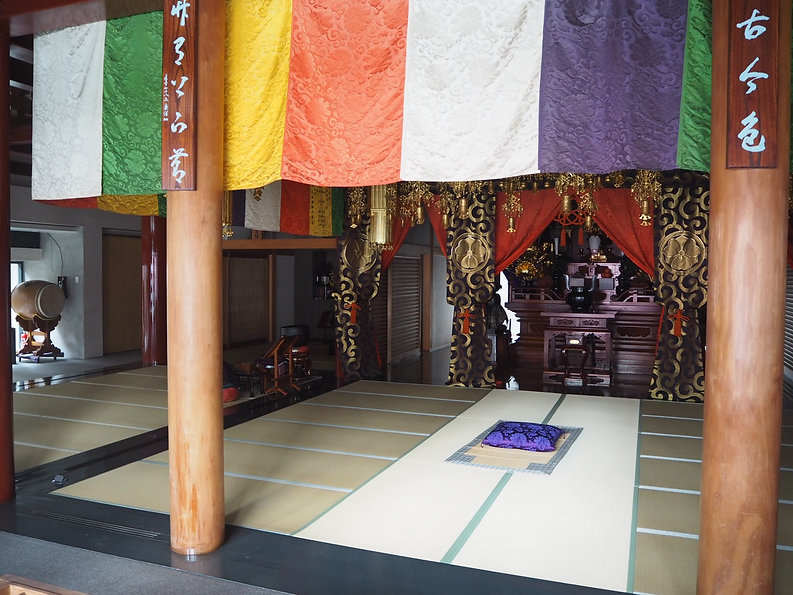 kouun-ji main hall Zen Buddhist Zazen Meditation Tokyo