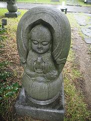 seisho-ji japanese buddhist temple tokyo garden mini buddha