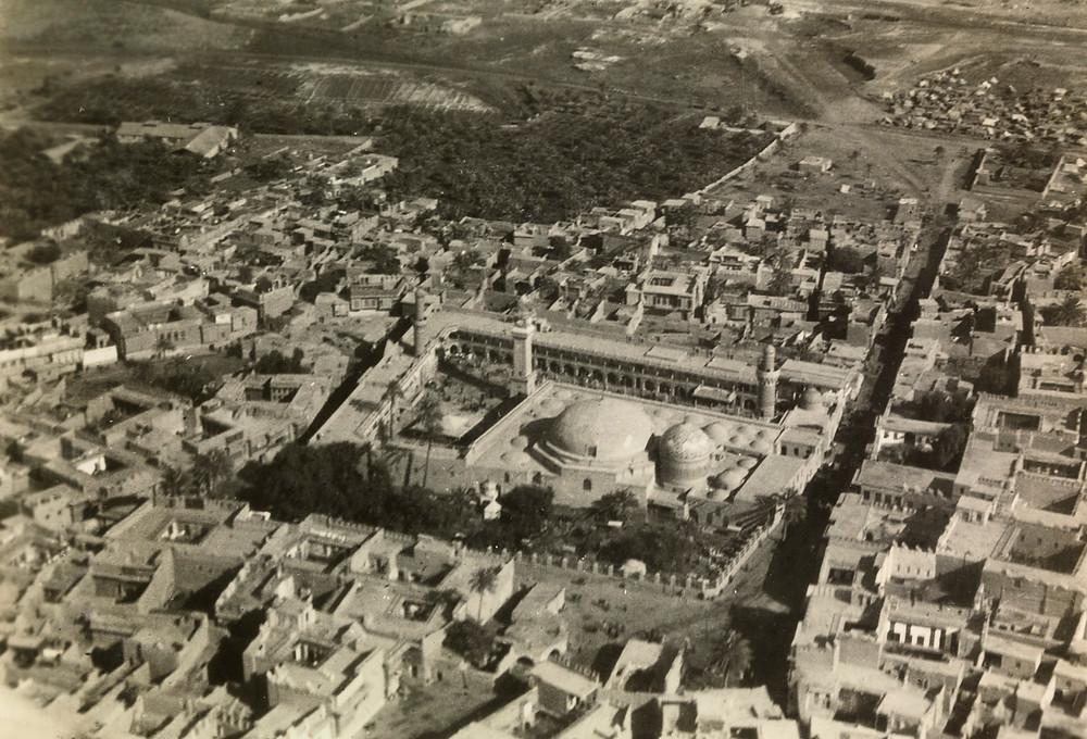Sheikh Abdul Qadir Gilani Mosque in Baghdad 1925