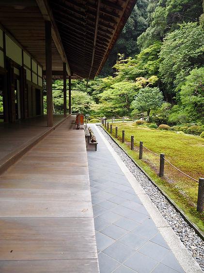 nanzen-ji buddhist temple kyoto japan porch