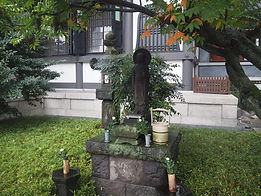 seisho-ji japanese buddhist temple tokyo garden mini shrine