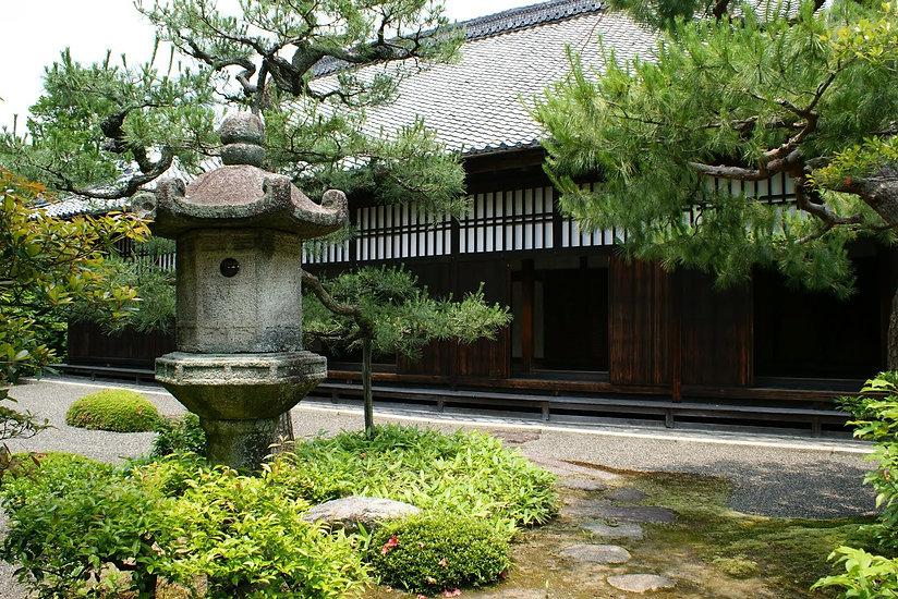 shunko-in buddhist temple kyoto japan garden