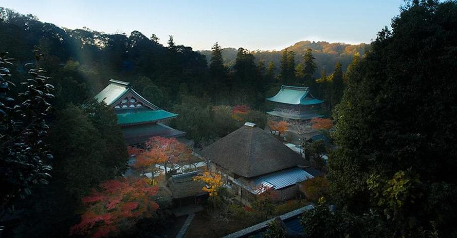 Engaku-ji Zen Buddhist Meditation Temple Japan