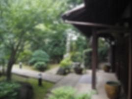 Kourin-In Temple, Tokyo, Japan entryway