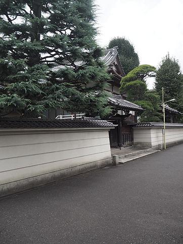Kourin-In Temple, Tokyo, Japan street view