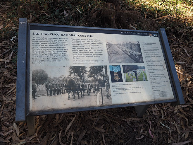 Presidio's San Francisco National Cemetery National Park Service Guide