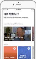 10 percent Happier Meditaton App