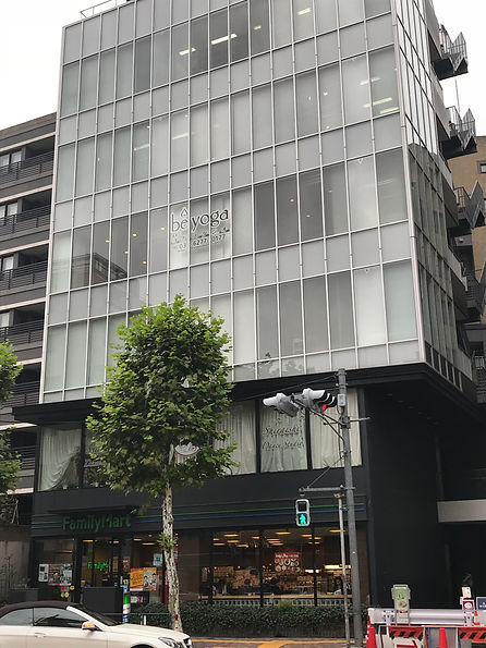 Be Yoga Center In Tokyo, Japan building facade
