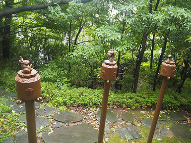 seisho-ji japanese buddhist temple tokyo garden rabbit dragon