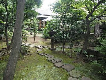 Kourin-In Temple, Tokyo, Japan inner garden