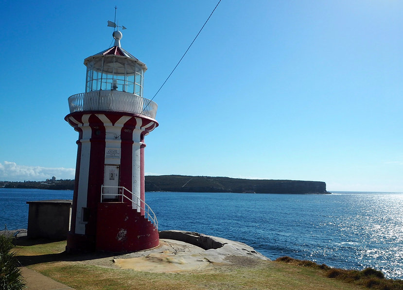 sydney harbor south head lighthouse