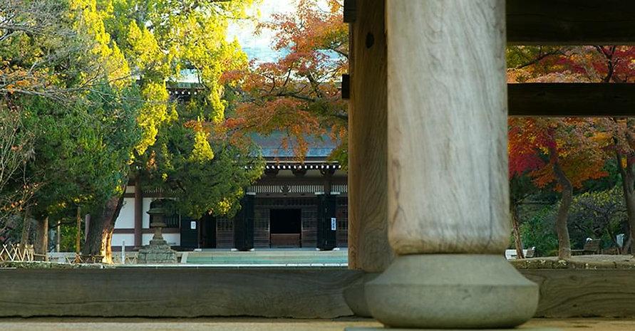 Engaku-ji Main Hall Zen Buddhist Meditation Temple