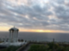 bondi to bronte walk waverly cemetery sunrise
